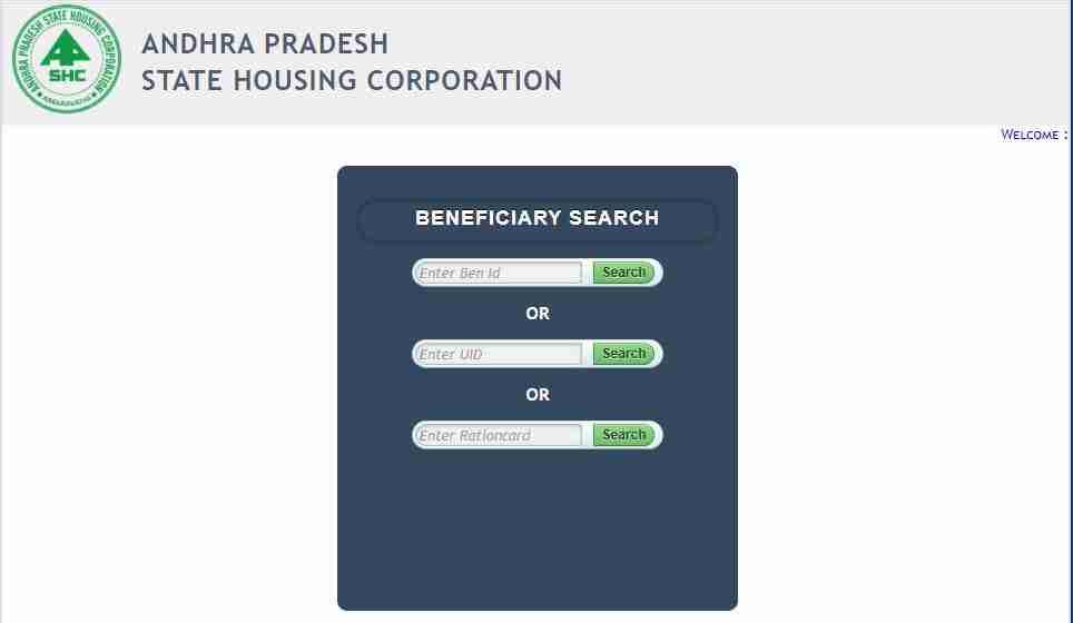 YSR Housing Scheme Beneficiary Search
